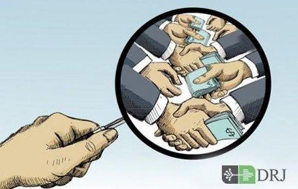 فساد کلان یا فساد بزرگ در بالاترین سطوح دولتی اتفاق میافتد