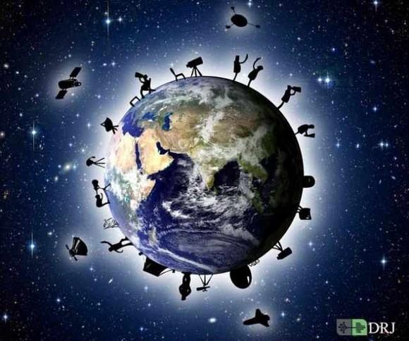 دیپروتد روز نجوم هر ساله در بسیاری از کشورهای جهان برگزار می شود