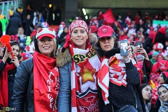حضور زنان در ورزشگاه آزادی هیچکدام منقلب نشدند
