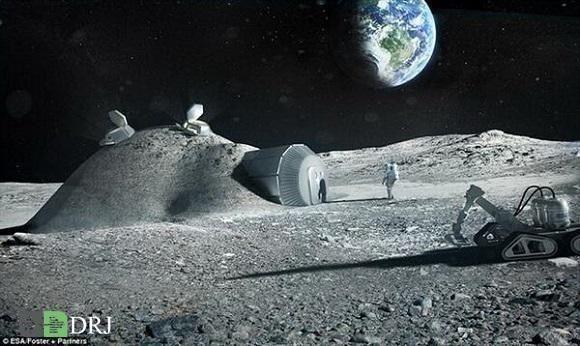 معدن کاری در ماه