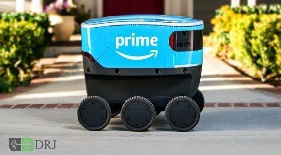 کالاها توسط ربات به دست مشتریان