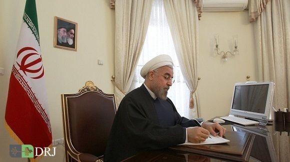 رئیس جمهور در نامه ای ضمن مخالفت با استعفای وزیر امور خارجه تصریح کرد