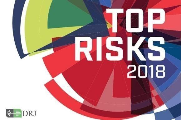 گزارش ریسکهای عمده سال ۲۰۱۸