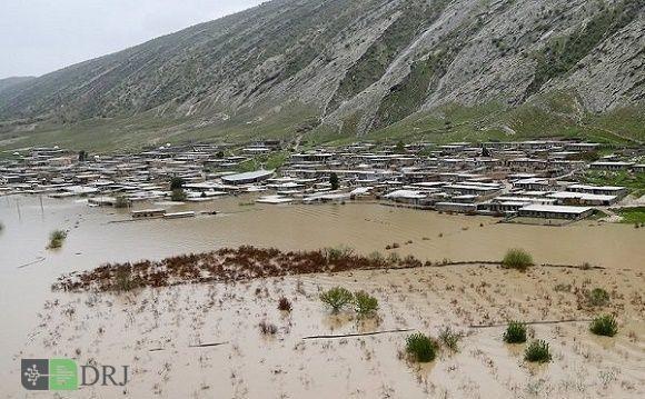 تخریب بیش از ۱۰۰۰ کیلومتر از راهها و ۵۰۰ فقره ابنیه فنی مناطق سیلزده گلستان