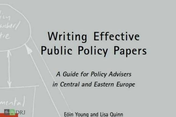راهنمای نگارش گزارشهای راهبردی در حوزه سیاستگذاری عمومی