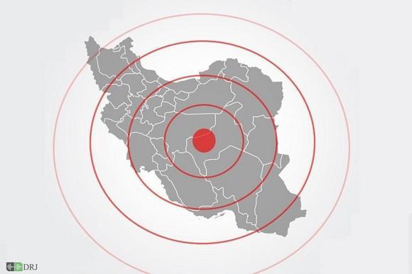 بزرگی زلزله تهران بیش از ۵ ریشتر بود