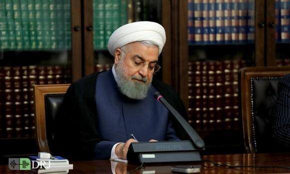 روحانی ۶ قانون مصوب مجلس را برای اجرا ابلاغ کرد
