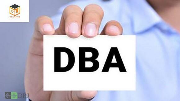 معرفی دوره DBA دانشگاه گلرنگ